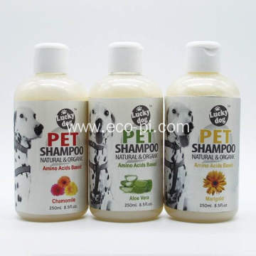 Natural Ingredient Moisturizing 250ml Pet Bottle Shampoo
